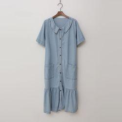 Sera Denim Long Dress