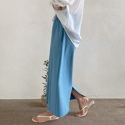June Cotton Long Skirt