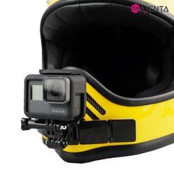 마젠타 고프로 액션캠 오토바이 관절 헬멧 마운트