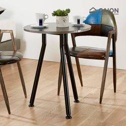 탬프 원형 테이블