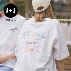[1+1] [16수] Summer T-Shirt 30type