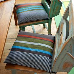 끈 의자 방석 40x40 트로피컬드림 (솜포함)