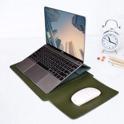 비진 클레식 레더 노트블 태블릿 파우치 거치대