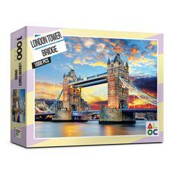 (알록퍼즐)1000피스 런던 타워 브릿지 직소퍼즐 AL3020