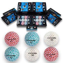 NEW 카에데 골프공 10더즌 울코팅 3피스 3컬러볼 선물