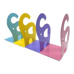 디자인 북엔드2 [코끼리] 2개세트 (색상랜덤)