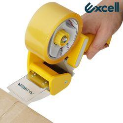 Excell 박스테이프 한손 커터기 푸쉬플랩 RT-82276