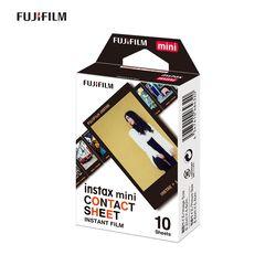 인스탁스 디자인필름 컨택트시트 10매
