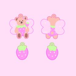 딸기요정 말랑키링