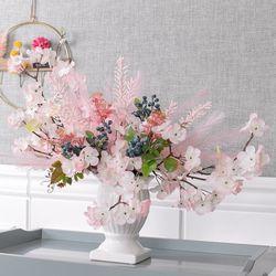 엄브렐러벚꽃센터피스 58cmP 조화 인테리어 꽃 FMFUFT