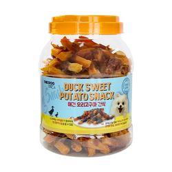 더독 강아지수제간식 오리고구마 통육포 1.4kg (소프트타입))