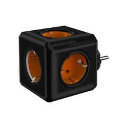천하 파워큐브 컬러 멀티탭 2.0 오리지널 1150 블랙오렌지