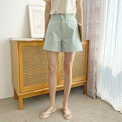 Pastel Pigment Shorts