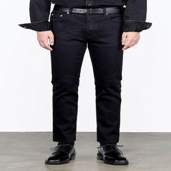 #0069 black crop jeans(ITEM4N64DYZ)