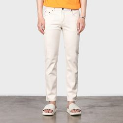 #0208 off-white slim crop jeans(ITEMP15H3BO)