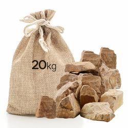 미미네스톤 세척 목문석 20kg 전후 (크기모양랜덤)