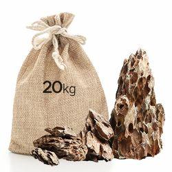 미미네스톤 세척 황호석 20kg 전후 (크기모양랜덤)