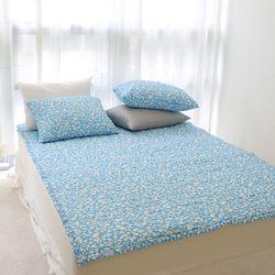 아이린 시어서커 간절기 논슬립 패드 누빔 침대 패드 3color Q