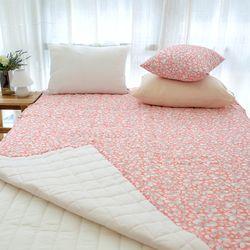 아이린 시어서커 간절기 논슬립 패드 누빔 침대 패드 3color S