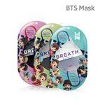 BTS 브레스실버 타이니탄 퀸텟마스크 1팩 2매입