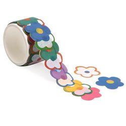 동글 꽃잎 마스킹 테이프