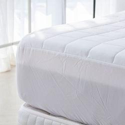블럭 세미 누빔 패밀리 침대 매트리스 커버 300x200