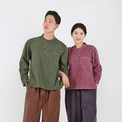 2535 [남녀공용] 심플 포켓 티셔츠 20수 순면 7색상