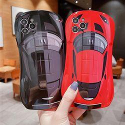 아이폰 12 11 XR SE2 X 8 7 레이싱카 실리콘 폰케이스