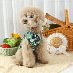 오로라펫 강아지 하와이안셔츠