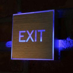 LED EXIT 표시등 1W.