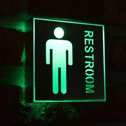 LED 남자화장실 표시등 1W.