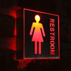 LED 여자화장실 표시등 1W.