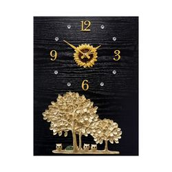 미니 부엉이와 황금나무 액자 시계 30 40