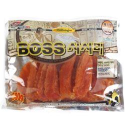 강아지 오래먹는 간식 육포 사사미 500g 영양식