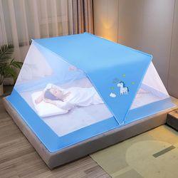 프리미엄 원터치 접이식모기장 침대모기장 3호