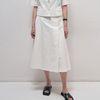 Charming A Line Skirts - Ivory