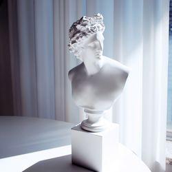 아폴로 석고 조각상 38cm 대형 오브제
