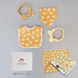 꿈두부 선물세트 오리의나들이 디자인 6종 출산선물 패키지