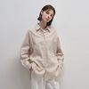 Linen Pocket Shirts - Beige