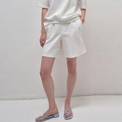 Pure Banding Shorts - White