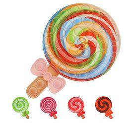 막대사탕 푸쉬팝 버블 팝잇 틱톡 뽁뽁이 피젯 장난감