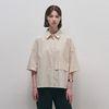 Normal Pocket Shirts - Beige