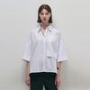 Normal Pocket Shirts - White