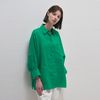 Linen Pocket Shirts - Green