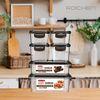 스마트 칸칸 밀폐용기  2개 구성 냉장고 정리 전제렌지용기