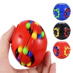 회전 매직빈 큐브 볼 스피너 퍼즐 피젯 토이 장난감