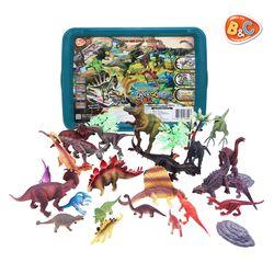 증강현실 공룡 피규어 다이노 GO 월드 대용량 보관함