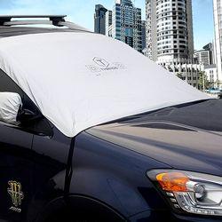 카닉스 차량용 햇빛가리개 앞창가리개 성에커버 L