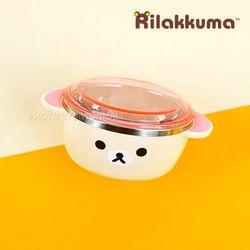 NEW 리락쿠마 뚜껑 스텐공기-핑크
