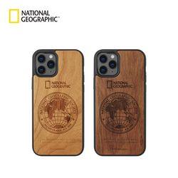 내셔널지오그래픽 아이폰12 Mini 글로벌씰 네이처 우드 케이스